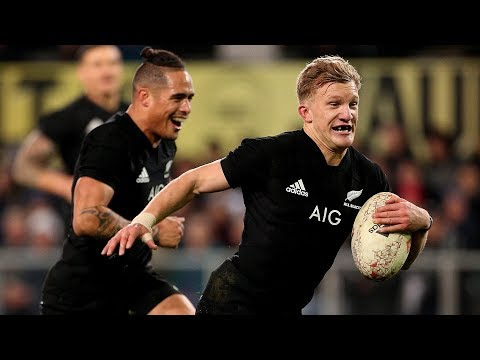 Every All Blacks try in 2018
