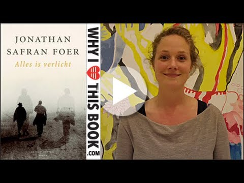 Leonie over Alles is verlicht - Jonathan Safran Foer - YouTube