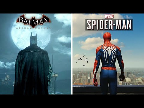 Top 10 SPIDERMAN And BATMAN Games For Android 2020   Offline High Graphics  