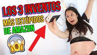 Los 3 inventos MÁS LOCOS y ESTÚPIDOS de AMAZON