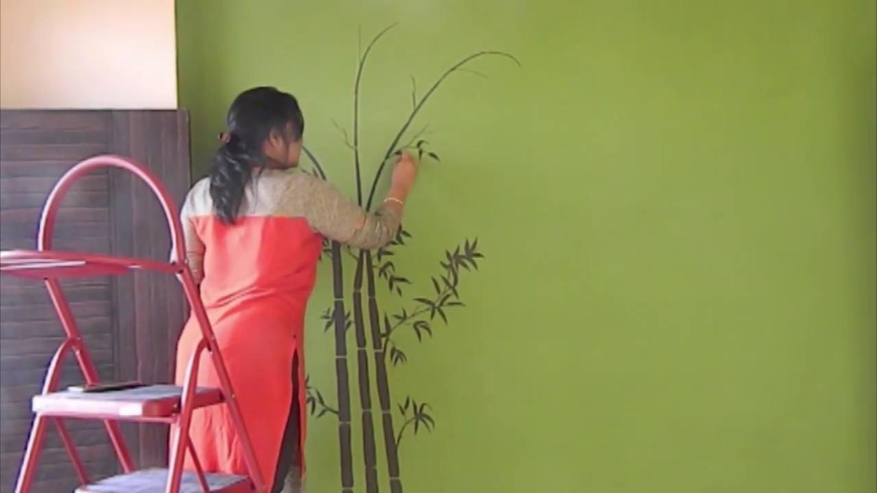 Bamboo Wall Design  Babita Keshan  YouTube