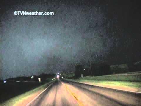 Largest tornado ever recorded? 2.5 miles wide! Hallam, Nebraska 2004