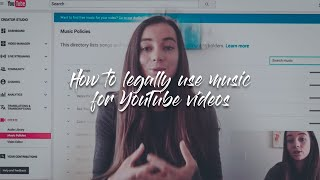 How to legally use music for YouTube videos