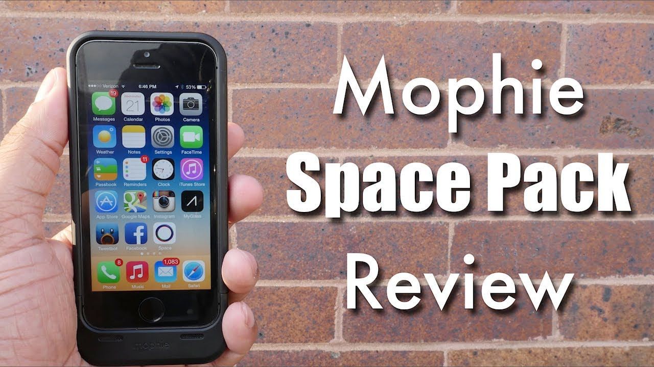 premium selection 89fdb 5b655 Mophie iPhone Space Pack Review!