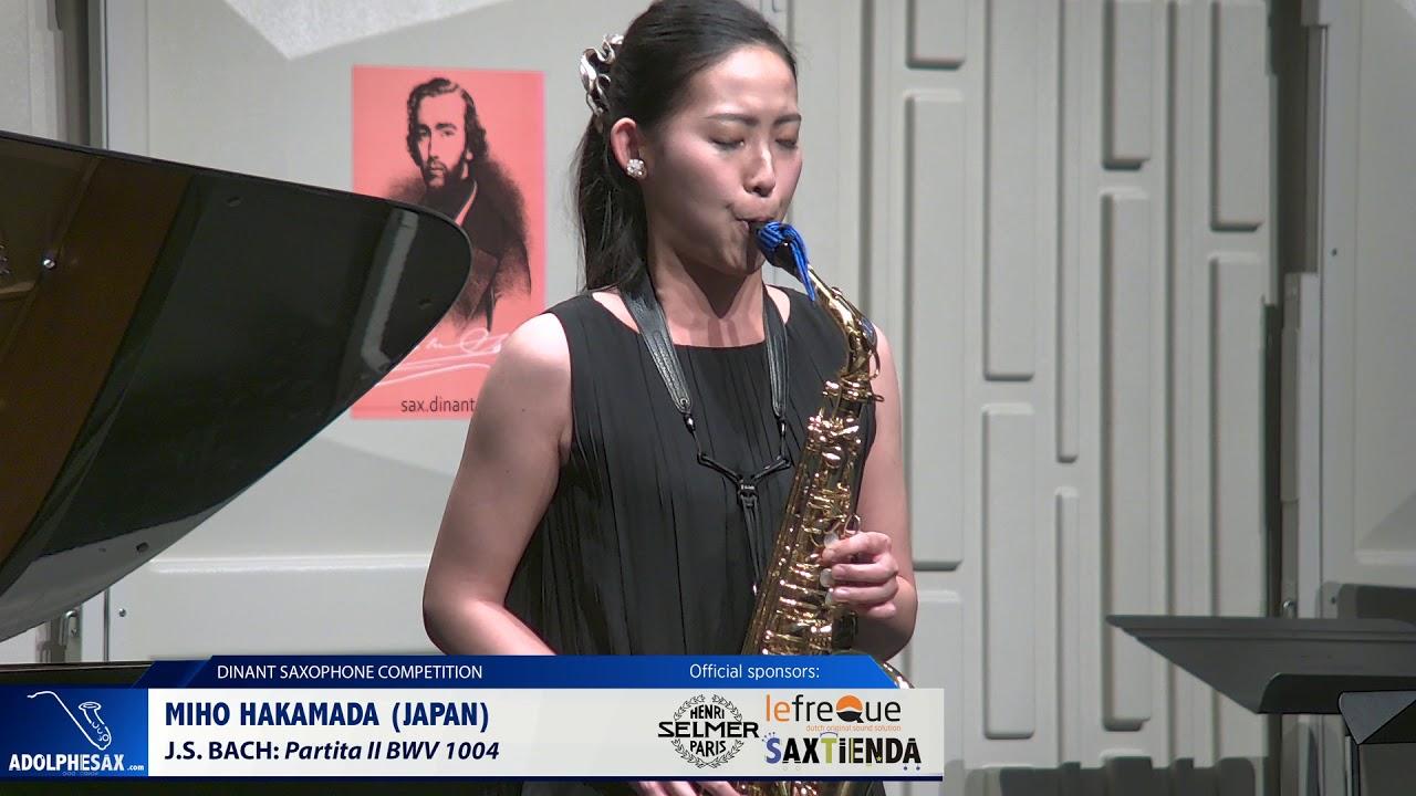 Miho Hakamada (Japan) - Partita II by J S Bach (Dinant 2019)