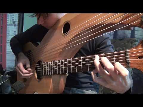 Greensleeves - Harp Guitar - Jamie Dupuis