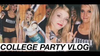COLLEGE PARTY VLOG! // Ray Ray Vlogs