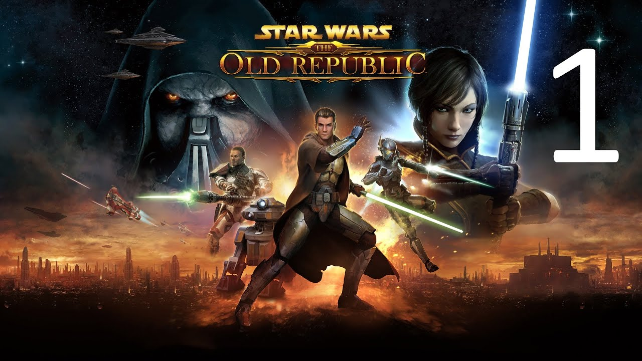 Star Wars The Old Republic Jedi Sentinel Part 1 Movie