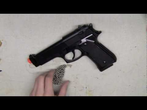 Quick and Easy: Make any spring airsoft gun Semi-Auto!!