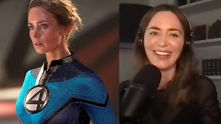 Fantastic Four Emily Blunt Casting News Interview Explained