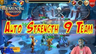 Auto Strength 9 Team - Might and Magic Elemental Guardians