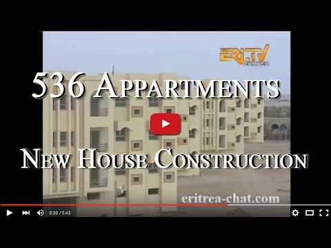 Eritrean New Houses Construction in Massawa - Eritrea