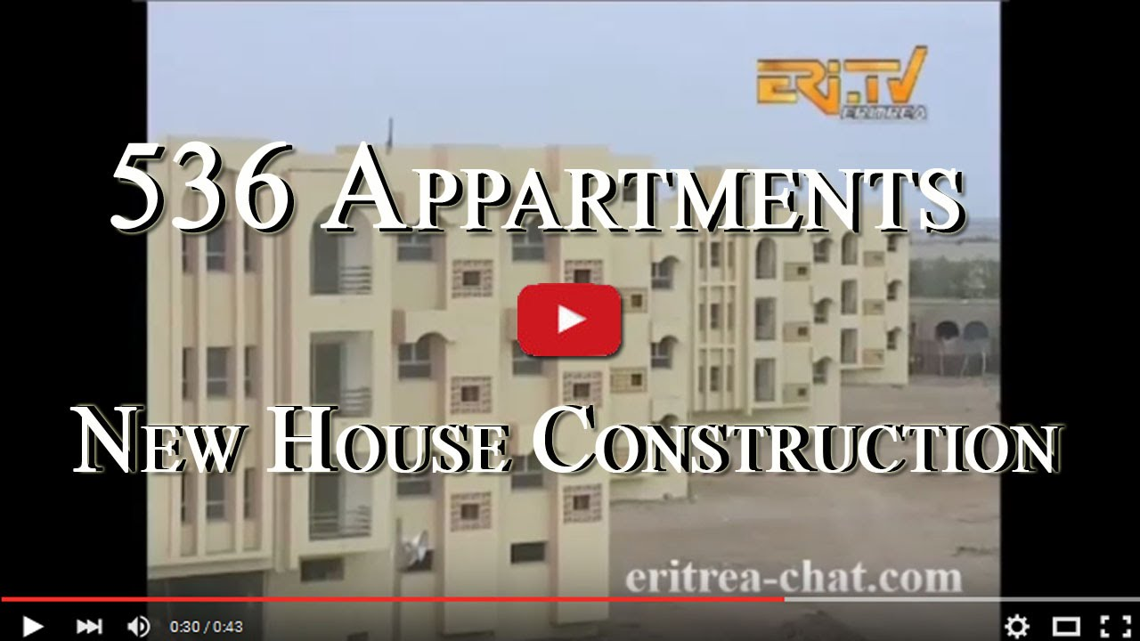 Eritrean New Houses Construction In Massawa