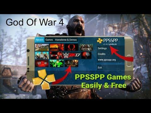 download game god of war untuk ppsspp emulator