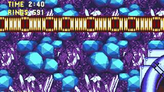 [TAS] Sonic 3 & Knuckles - Sonic + Tails Ring-attack - Lava Reef ACT 2 / Hidden Palace [Wip 31]