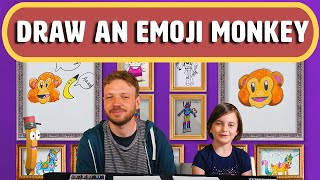 How to Draw A Monkey - Art for Kids - Magic Pencil | ##howtodraw #emoji