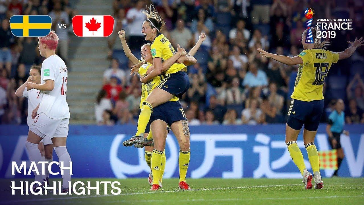 Sweden v Canada - FIFA Women's World Cup France 2019™