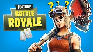 THE WEIRDEST FIRST GAME OF FORNITE BATTLE ROYALE! (Fortnite BR Funny Moments & Fails Gameplay)