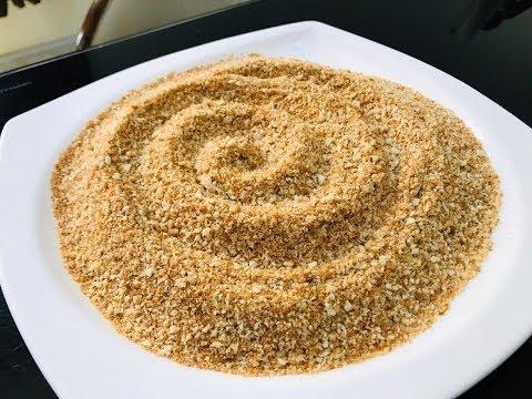how-to-make-crispy-bread-crumbs no-oven simple-bread-crumbs-receipe- 