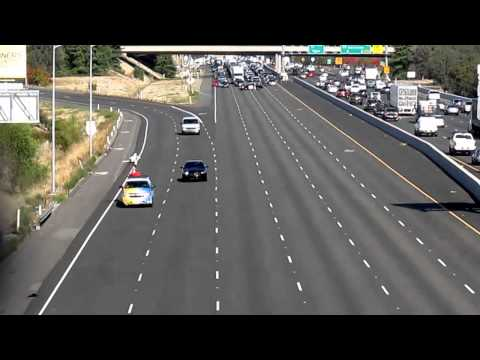 Sacramento County Sheriff's Deputy Danny Oliver's Funeral Procession