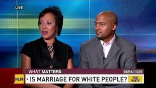 White pegging Black men women