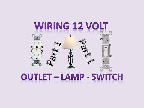 hook up led lights switch