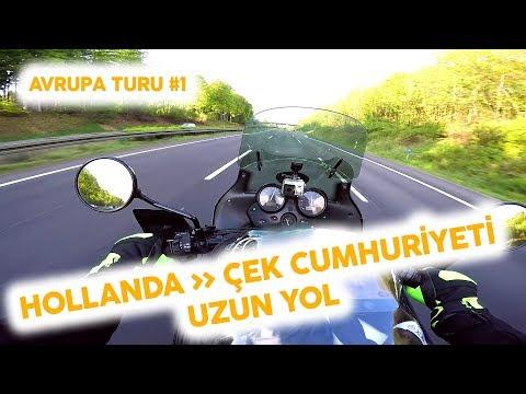 Motosikletle Hollanda'dan Çek Cumhuriyetine Uzun Yol #1