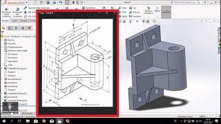 SolidWorks Örnek Çizim - ORTA SEVİYE #5 (SINAVA YARDIMCI)