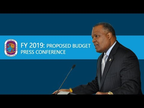 FY 2019 Proposed Prince George's County Budget