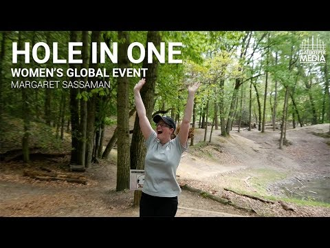 Margaret Sassaman Disc Golf Hole in One | Women's Global Event 2018 | Stafford Woods DGC