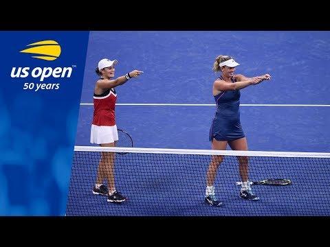 Ashleigh Barty & CoCo Vandeweghe into 2018 US Open Final