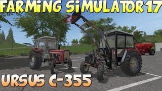 🚜URSUS C-355 / URSUS 1014 Farming Simulator 17 Mody