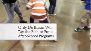 Bill de Blasio's second campaign ad features his son Dante