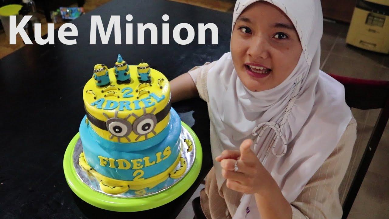 Kue Ulang Tahun Minion How To Make Minion Cake