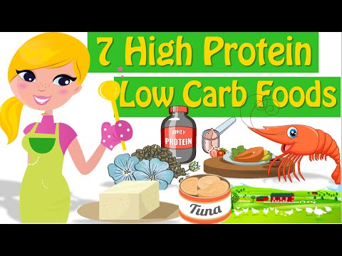 7 High Protein Low Carb Foods, Good Sources Of Protein