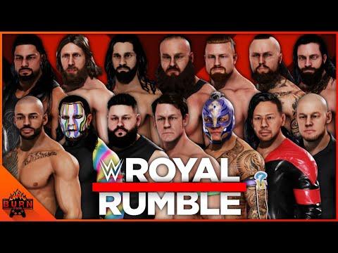 WWE 2K20 30 MAN ROYAL RUMBLE MATCH | ALL CURRENT SUPERSTARS | 60 FPS