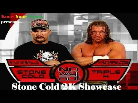 WWE 2K16: Stone Cold Showcase Match 24 - No Way Out 2001
