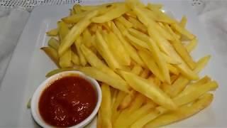 البطاطس المقرمشة  بدون زيت وبدون  قلي وبدون مجهود صحية ولذيذة - مع عائشة