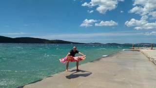Strong Wind || Zablaće Beach (Šibenik - Croatia) || July 2nd 2017.