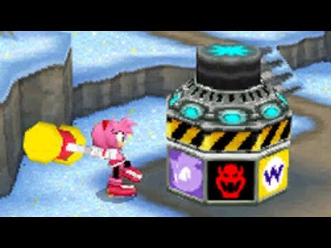 Mario And Sonic At The Olympic Winter Games (DS) - All Minigames