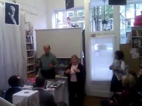 """Richard Simonetti apresenta """"To love and to live in Peace"""" no Sir William Crookes , Londres - part 1"""