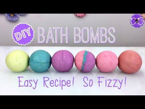 Thumbnail: DIY FIZZY BATH BOMBS! HUGE BATH BOMBS!! EASY RECIPE!