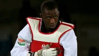 Rio olympics 2016:Abdoulrazak Issoufou Alfaga wins silver for Men's over 80 kg taekwondo