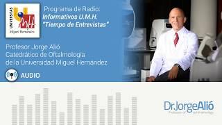 Radio Informativos UMH Entrevista Jorge Alio