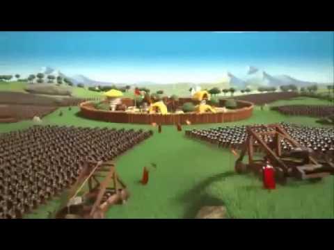 Онлайн игра, стратегия Travian - трейлер