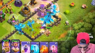 Draco's First Electro Dragon Attack Ever | COC