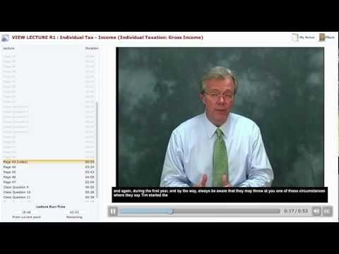 Becker CPA Exam Review Course Demo: Regulation R1