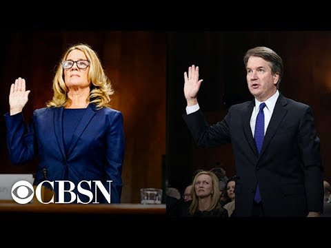 Brett Kavanaugh and Christine Blasey Ford full testimonies before the Senate Judiciary Committee Mp3