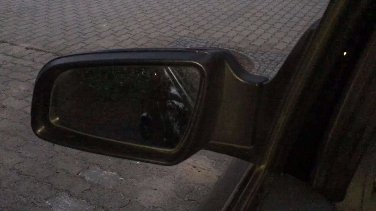 Spiegel Opel Zafira : Zafira b elektrisch anklappbare spiegel youtube