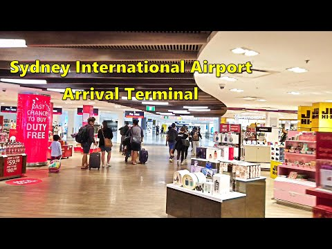 SYDNEY INTERNATIONAL AIRPORT Arrival Terminal - Australia